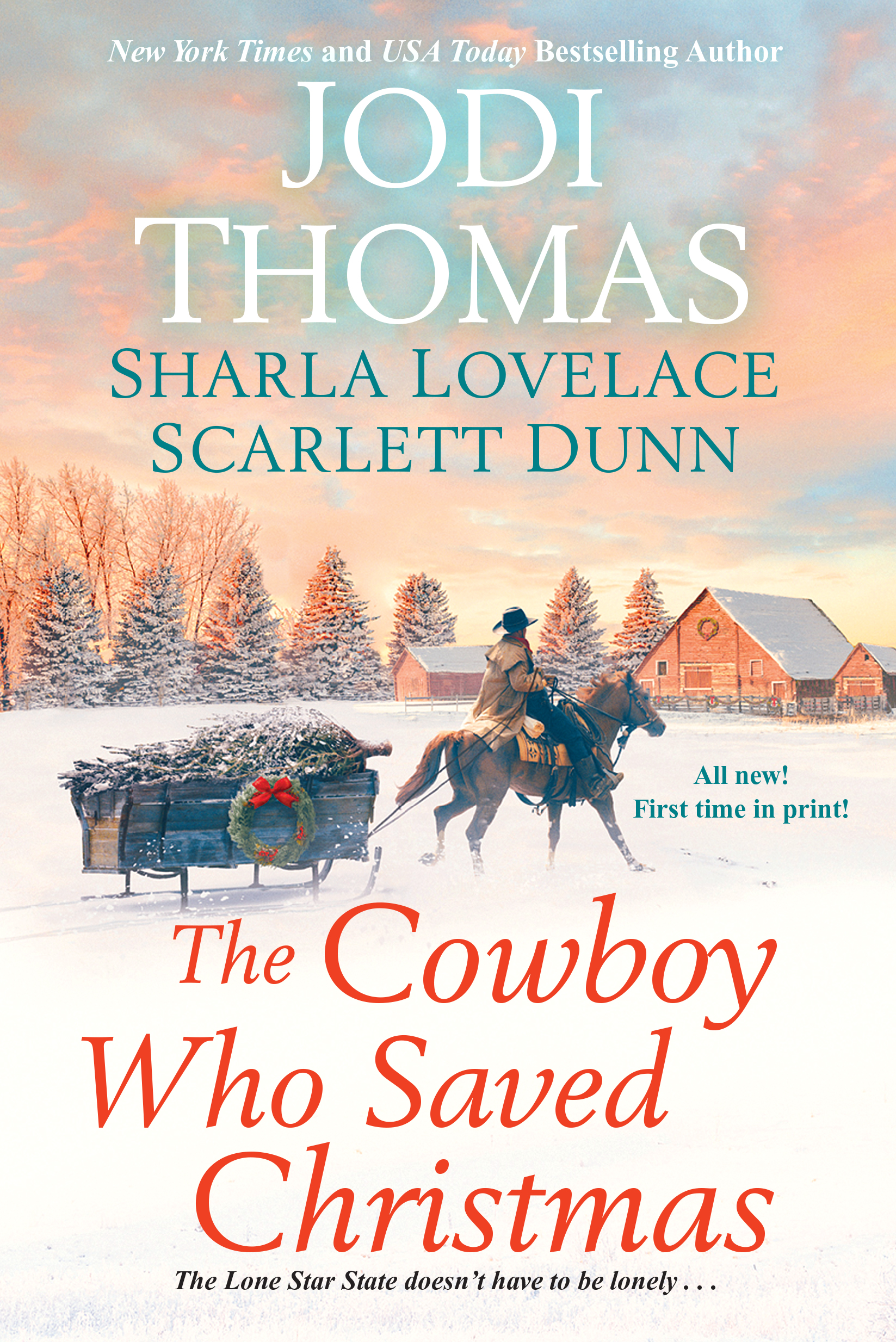 The Cowboy who saved xmas cover