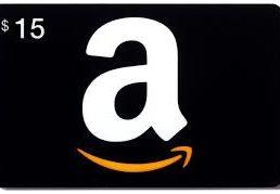 Win a $15 Amazon card!